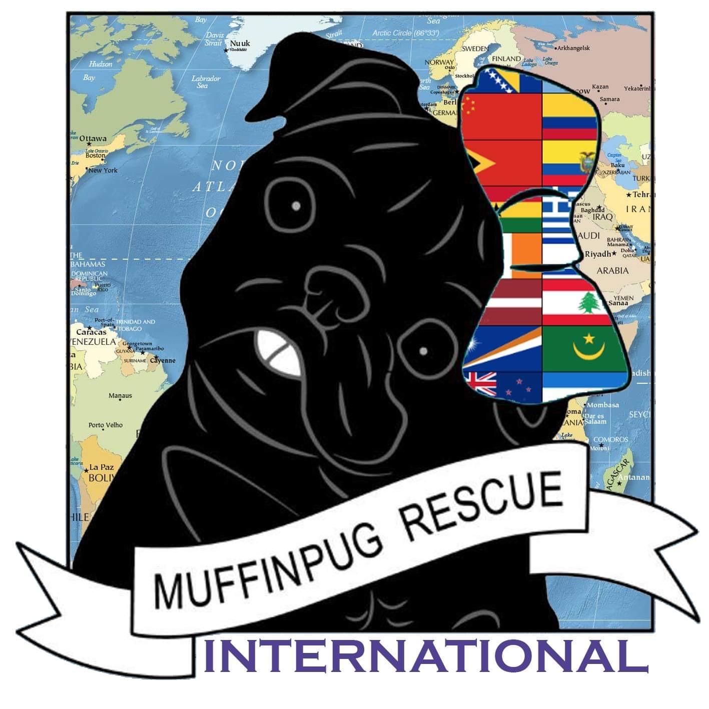 MuffinPug International Logo