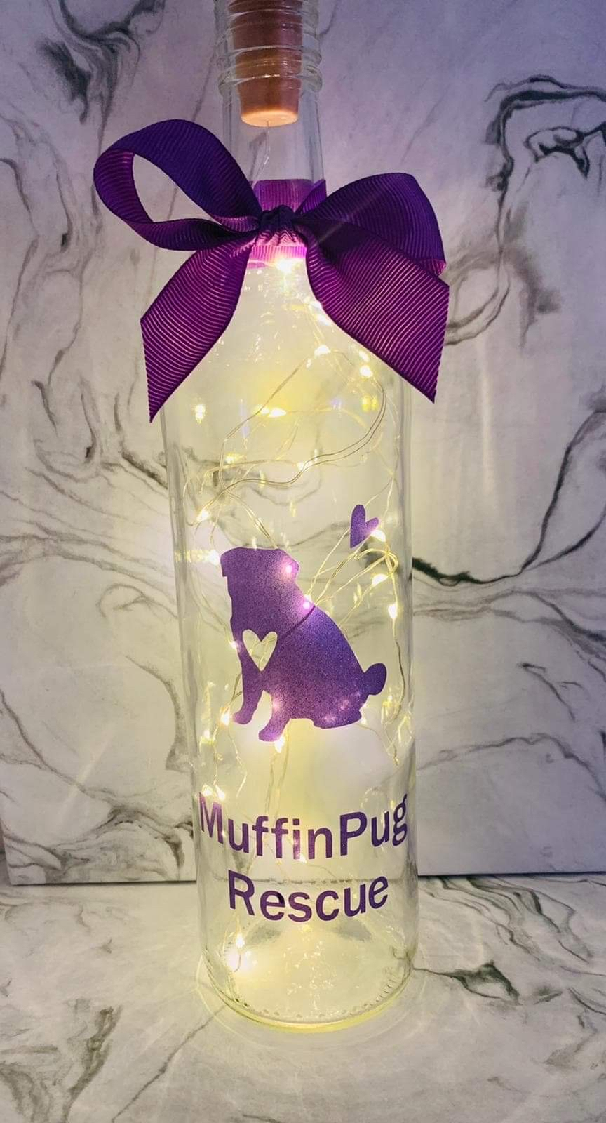 MuffinPug Light Bottle